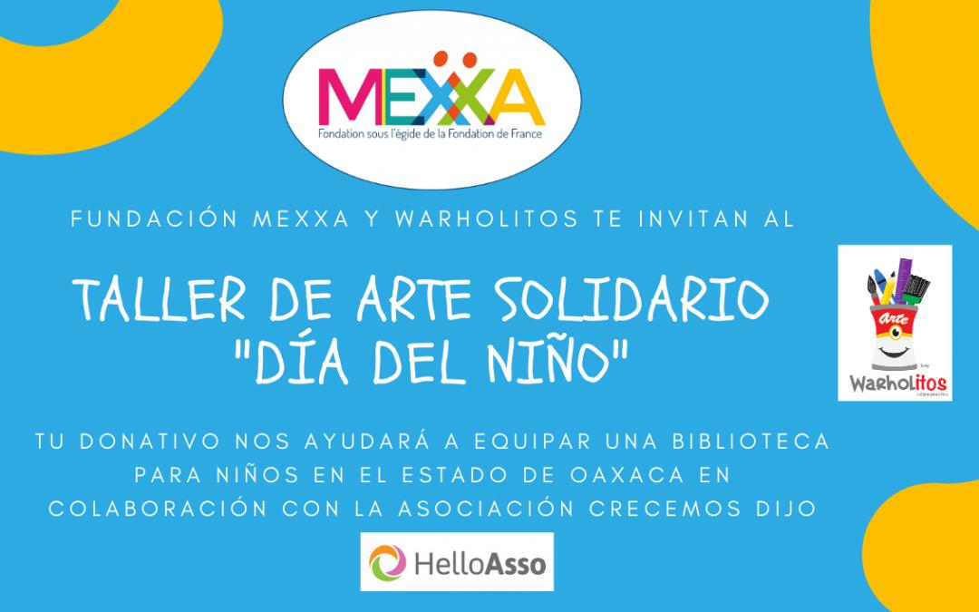 ¡Taller de arte solidario para festejar el DÍA DEL NIÑO!